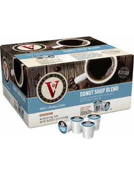 Donut Shop Coffee Pods (80 Pack) by Victor Allen's