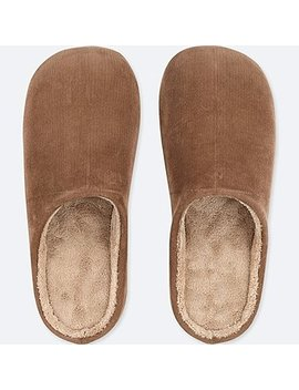 Corduroy Slippers by Uniqlo