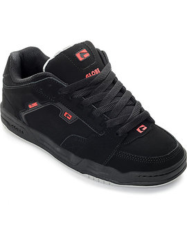 Globe Scribe Black &Amp; Red Skate Shoes by Globe