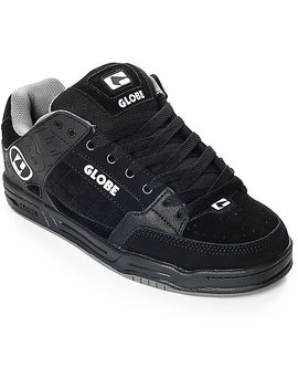 Globe Tilt Black &Amp; Grey Skate Shoes by Globe