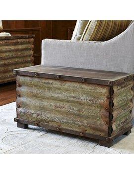 Trent Austin Design Carbondale Corrugated Coffee Table Trunk & Reviews by Trent Austin Design