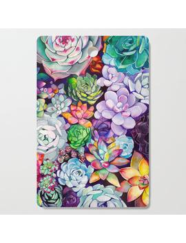 Succulent Garden Cutting Board by