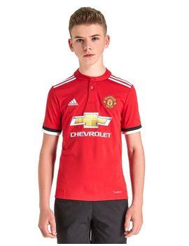 Adidas Manchester United 2017/18 Home Shirt Junior by Adidas