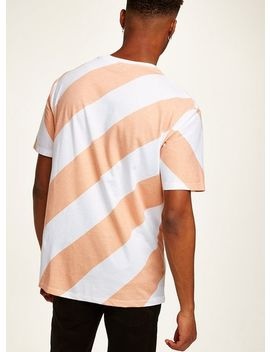 Apricot Stripe T Shirt by Topman