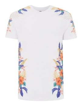 White Jungle T Shirt by Topman
