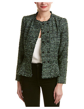 Rebecca Taylor Boucle Wool Blend Jacket by Rebecca Taylor