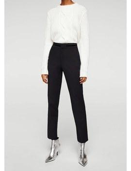 Straight Fit Pantalon by Mango