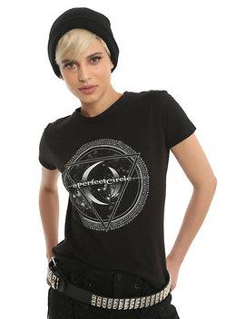 A Perfect Circle Sigil Logo Girls T Shirt by Hot Topic