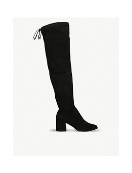 Wild Suedette Knee High Boots by Carvela