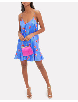 Tina Floral Slip Dress by Caroline Constas