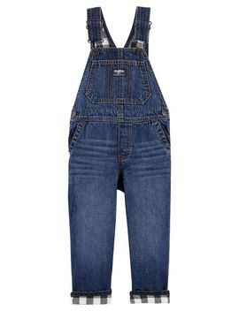 Flannel Lined Overalls by Oshkosh