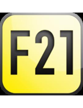 Frayed Corduroy Mini Skirt by Forever 21