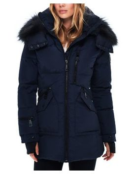 Cruiser Fur Trim Down Coat by Sam.