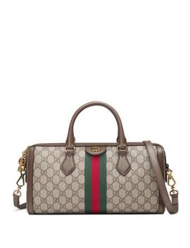 Ophidia Gg Medium Top Handle Duffel Bag by Gucci