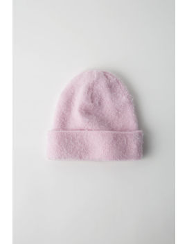 Pilled Beanie Powder Pink by Acne Studios