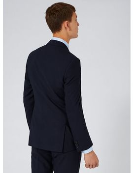 Charlie Casely Hayford X Topman Navy Skinny Work Suit Jacket by Topman