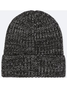 Heattech Knitted Beanie Hat by Uniqlo