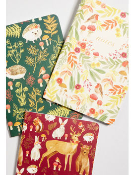 Woodland That I Love Notebook Set by Paper Source