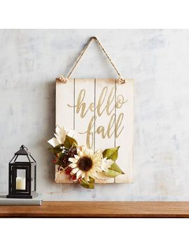 Hello Fall Wall Decor by Wild Wood Collection