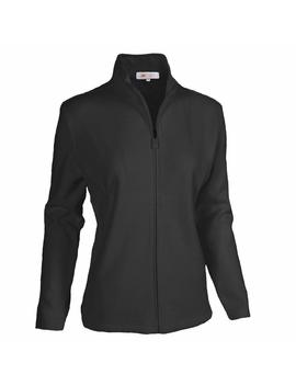 Monterey Club Ladies Classic Long Sleeve Zip Up French Rib Jacket #2934 by Monterey Club