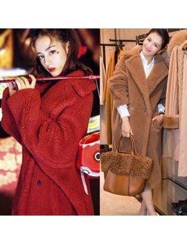 Sienne   Fleece Double Breasted Long Coat by Sienne