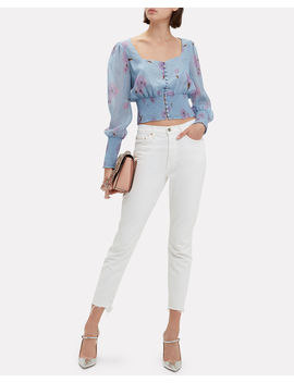 Adelaide Printed Top by Intermix