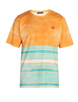 Striped Cotton T Shirt by Acne Studios