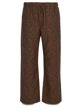 Paisley Trousers by Needles