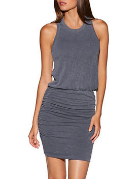 Cinched Lounge Dress by Boston Proper