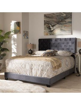 House Of Hampton Volk Upholstered Panel Bed & Reviews by House Of Hampton