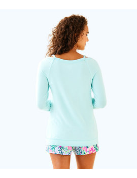 Luxletic Bungalo Sweatshirt by Lilly Pulitzer