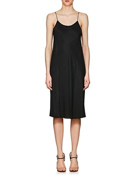 Washed Twill Slipdress by Helmut Lang