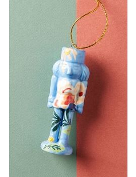 Painted Nutcracker Ornament by Anthropologie