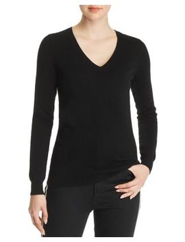 V Neck Cashmere Sweater   100 Percents Exclusive by C By Bloomingdale's