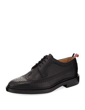 Classic Long Wing Brogue Shoe by Thom Browne