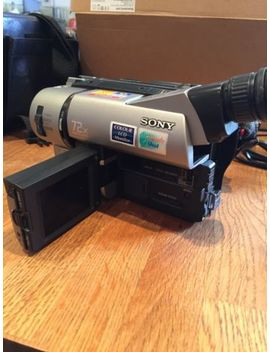 Sony Ccd Trv65 E Hi8 Steadyshot Handycam With Nightshot. Tested by Ebay Seller