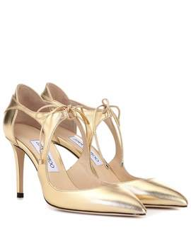 Vanessa 85 Leather Pumps by Jimmy Choo