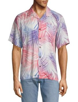 Camp Printed Short Sleeve Shirt by Standard Issue Nyc