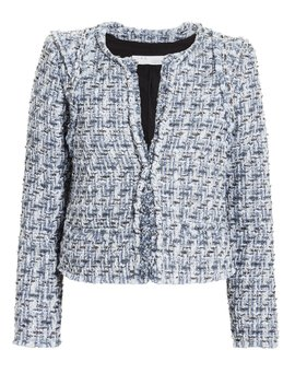 Disco Blue Tweed Jacket by Iro