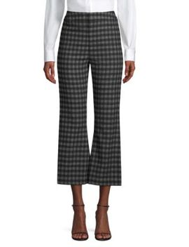 Tailored Kick Flare Trousers by Smythe