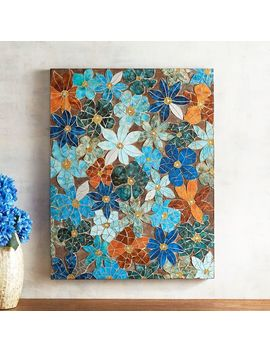 Falling Florals Mosaic Wall Panel by Pier1 Imports