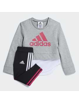 Dual Sweatshirt Set by Adidas