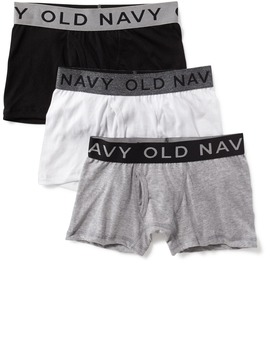 Boxer Briefs 3 Pack For Boys by Old Navy