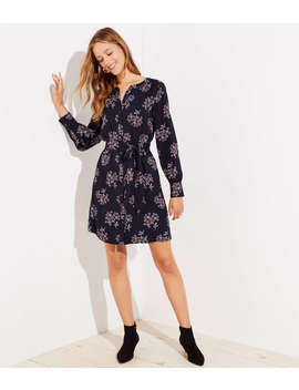 Tall Anemone Shirtdress by Loft