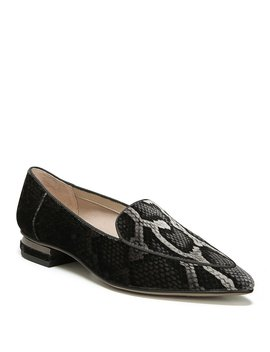 Starland 2 Snake Print Slip On Loafers by Franco Sarto