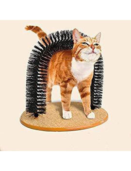Cat Scratching Post Pet Arch Brush Furniture Scratch Board Tree Toy Scratcher by Branded