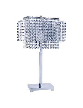 Ore International Table Lamp   Shiney Silver by Ore International