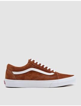 Suede Old Skool Sneaker In Brown by Vans