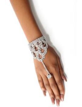Lending You A Hand Chain   Silver by Fashion Nova