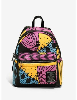 loungefly-the-nightmare-before-christmas-sally-patchwork-backpack by hot-topic